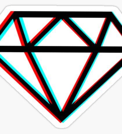 3D Diamond  Sticker