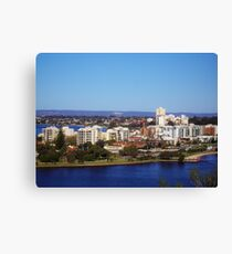 Perth City WA Canvas Print