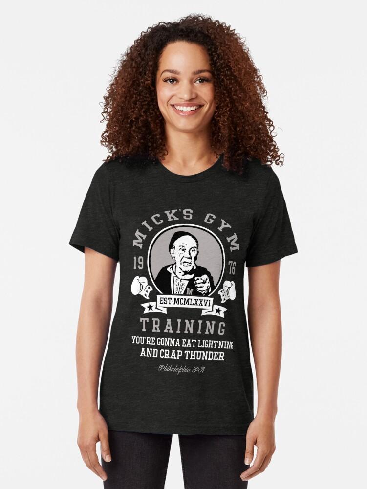 Alternative Ansicht von Micks Fitnessstudio Vintage T-Shirt
