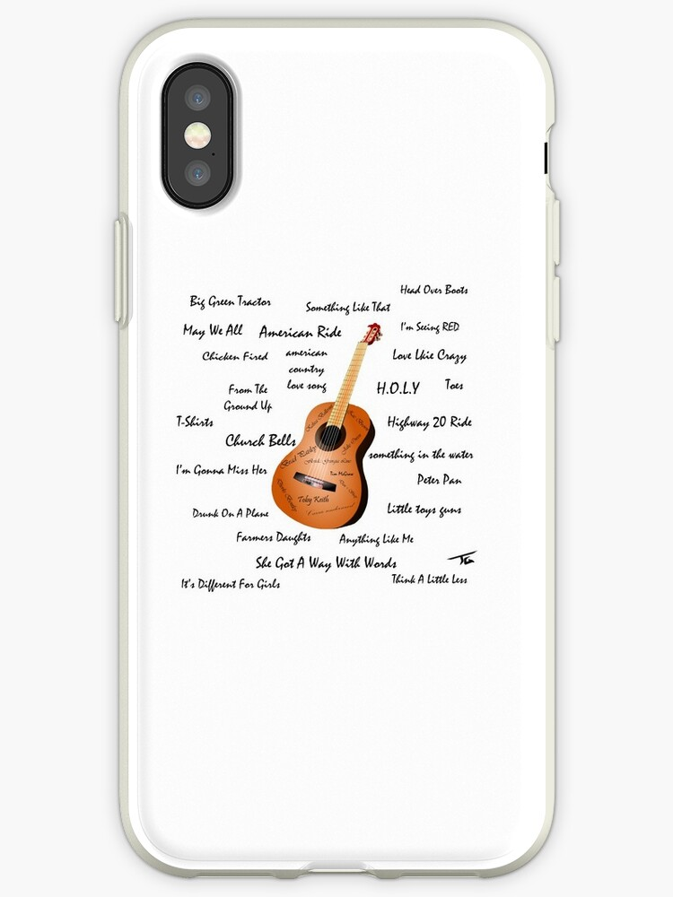 'Country Songs' iPhone Case by Skyrimjoe