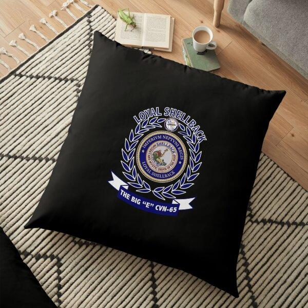 Uss Enterprise Cvn-65 Shellback Floor Pillow