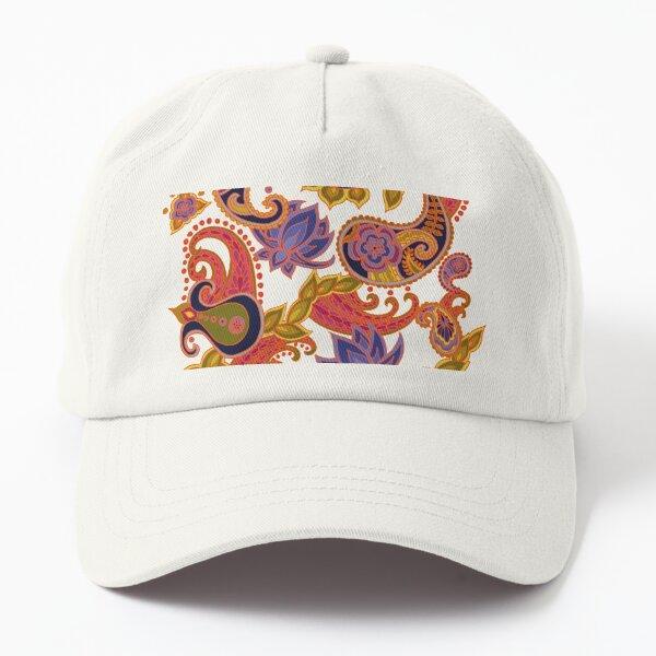 Paisley of '71 - orange Dad Hat