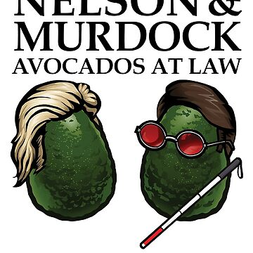 'Nelson and Murdock Avocados at Law' by Lukeee4