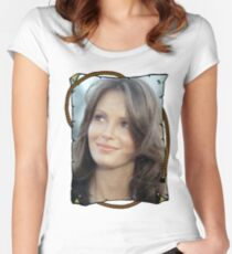 Charlies Angels Jaclyn Smith Women's Fitted Scoop T-Shirt