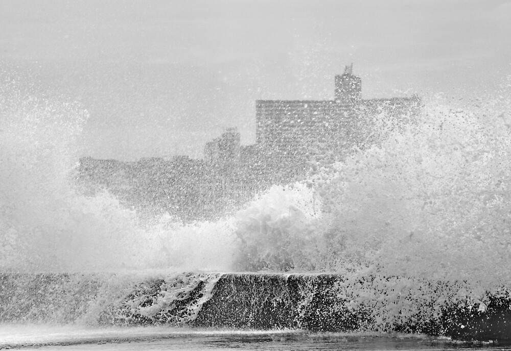 Stormy Day in Havana by Kasia Nowak