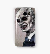 Gentlemen illustration Samsung Galaxy Case/Skin