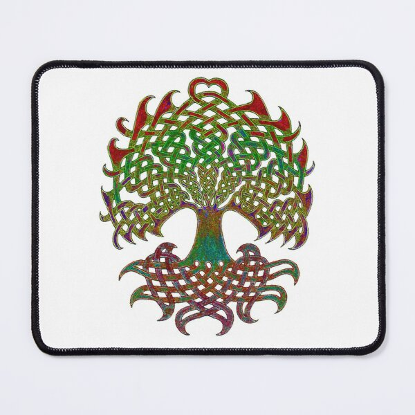 Celtic Knot Tree of Life Mouse Pad