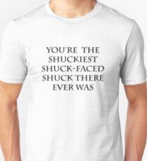 The Shuckiest Shuck-Faced Shuck (White) T-Shirt