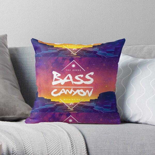 Bass Canyon Throw Pillow