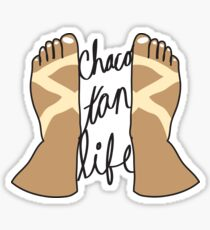 Chaco Tan Life Sticker