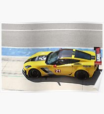 Z06-R Track Ready  Poster