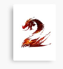 Guild Wars 2 Design Canvas Print