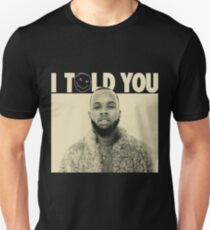 3321d6f0e812 tory lanez tour 2016 T-shirt slim fit