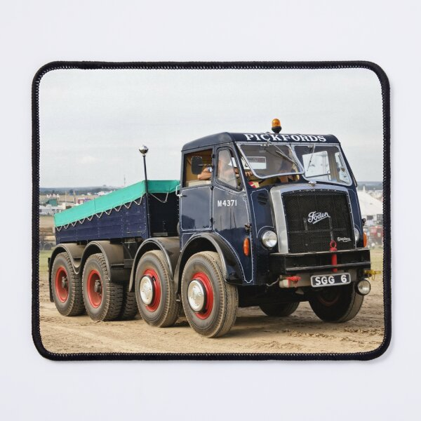 1956 Pickfords Foden Heavy Haulage Tractor Mouse Pad