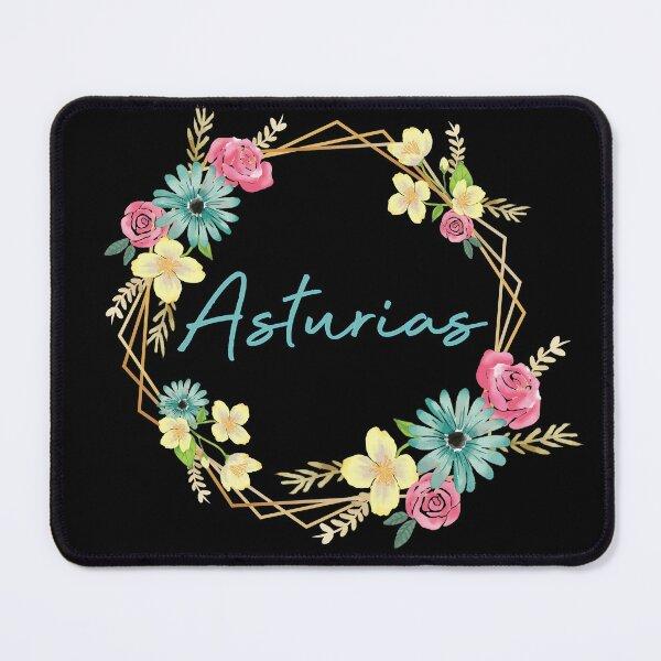 Asturias floral Mouse Pad