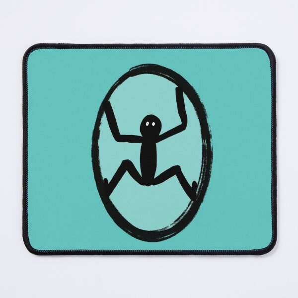 Rebirth | Fresh Start | Cartoons for Dreamers Mouse Pad