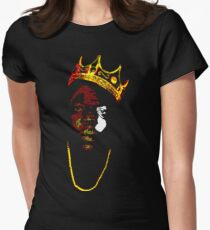 Biggie It Was All A Dream Womens Fitted T-Shirt