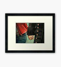 Need a Hand, Love? Framed Print