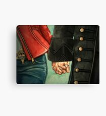 Need a Hand, Love? Canvas Print