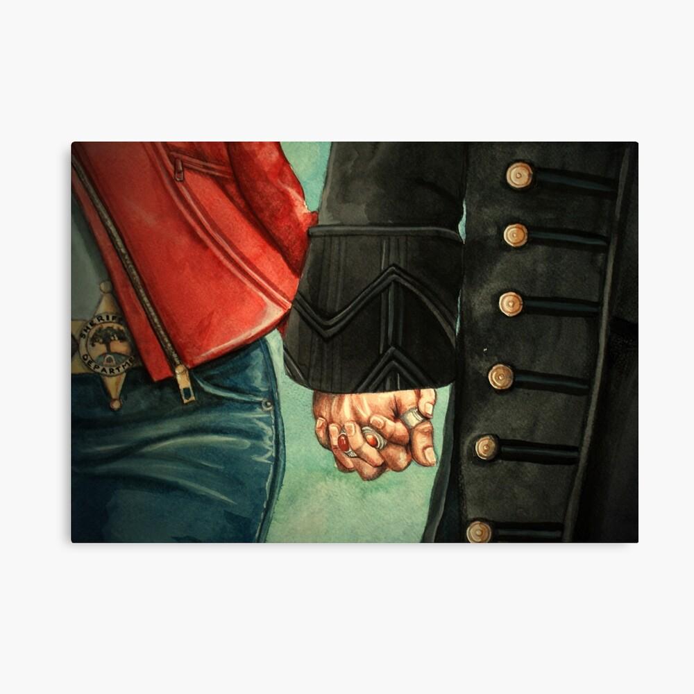 Need a Hand, Love? Canvas Print