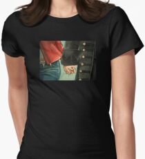Need a Hand, Love? Womens Fitted T-Shirt