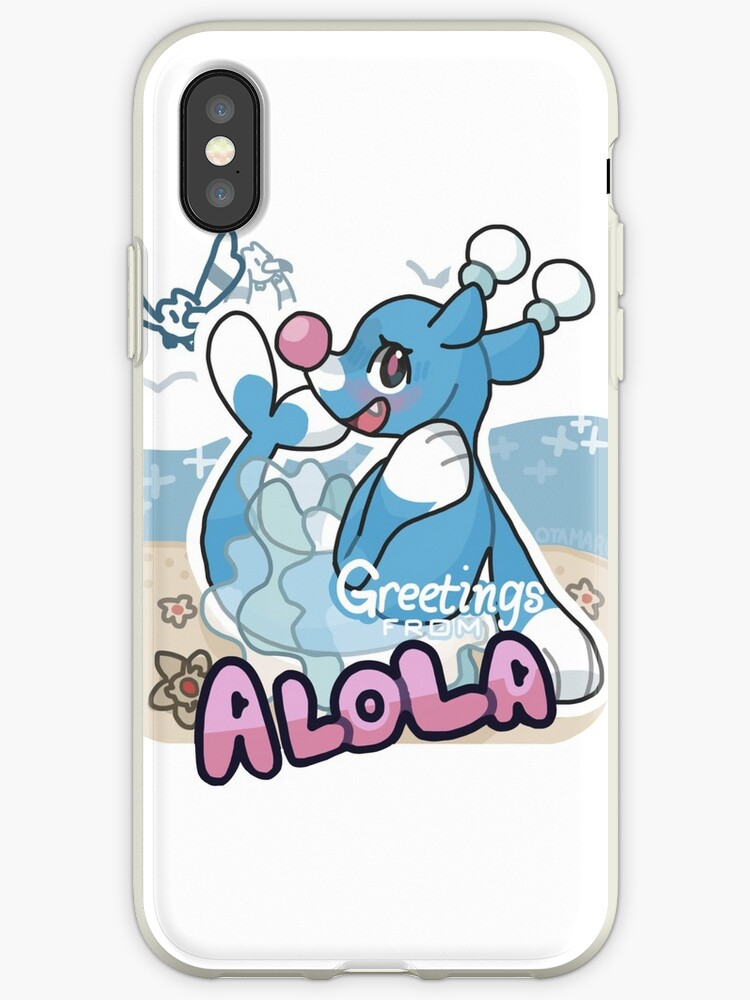 finest selection ffd81 88e8e 'Greetings from Alola (ft. Brionne) - Pokémon Sun and Moon' iPhone Case by  otamaru