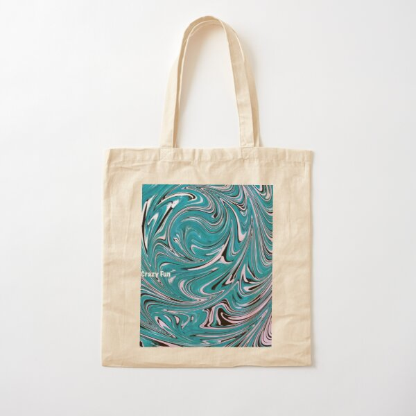 Water Sphere Pattern of Movement Cotton Tote Bag