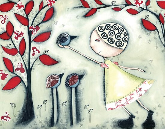 The delicate balance of nature by Jody  Pratt