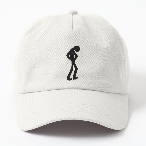 Leave Me Alone | Solitude | Cartoons for Private People Dad Hat