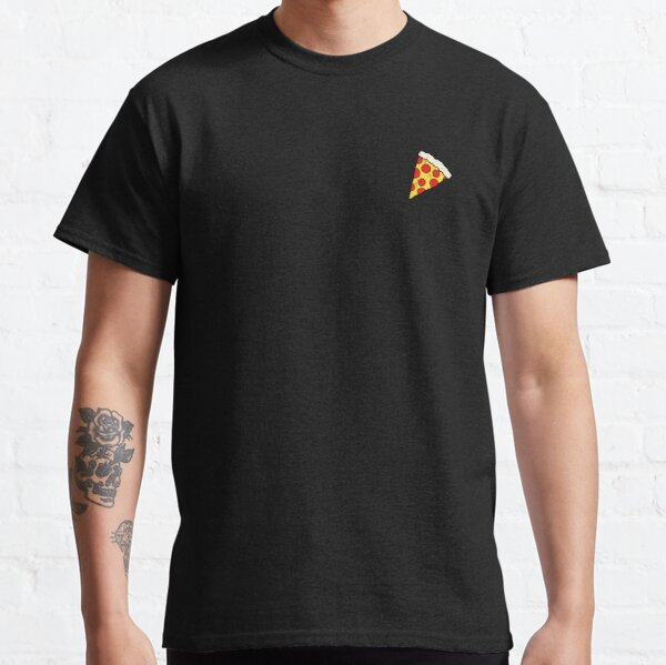 Delicious Pepperoni / Salami Pizza - Pattern with extra cheese Classic T-Shirt