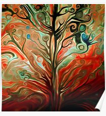 Surreal Tree Poster
