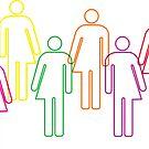 Transgender pride and diversity by sledgehammer