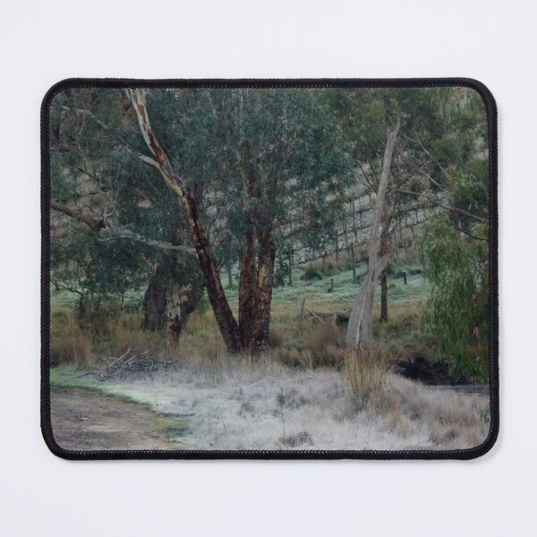 Frosty Morning - Adelaide Hills - Fleurieu Peninsula by South Australian artist Avril Thomas Mouse Pad