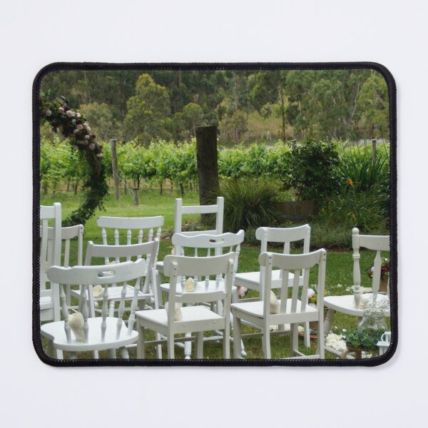Winery Wedding - Adelaide wedding venue, Vineyard wedding Adelaide, Winery wedding SA Mouse Pad