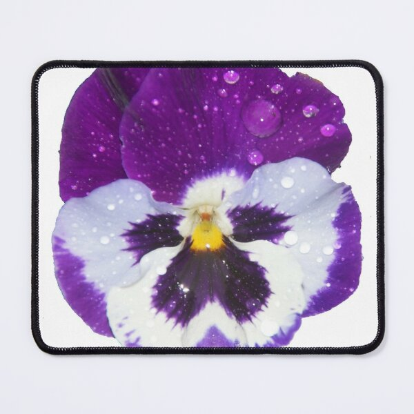 Pansey by South Australian artist Avril Thomas Mouse Pad