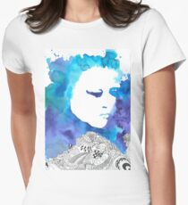 Dreaming Blue  Women's Fitted T-Shirt