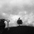 Raven Steals The Skeleton Key by Zehda