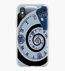 The Twelfth Doctor - time spiral iPhone Case