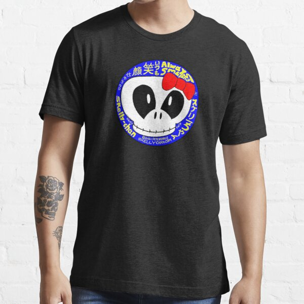 Skelly-chan Always Smiling Essential T-Shirt