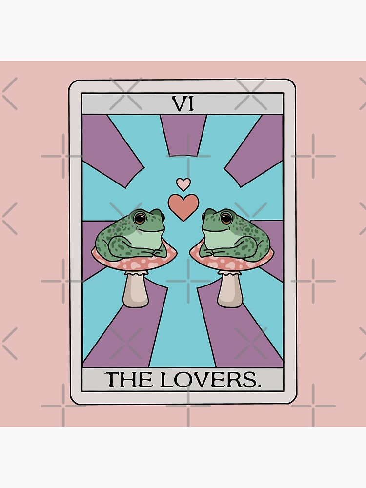 The Lovers Frog Tarot by melouker