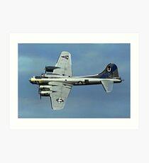 B-17G Fortress II N17TE G-BEDF Sally B Art Print