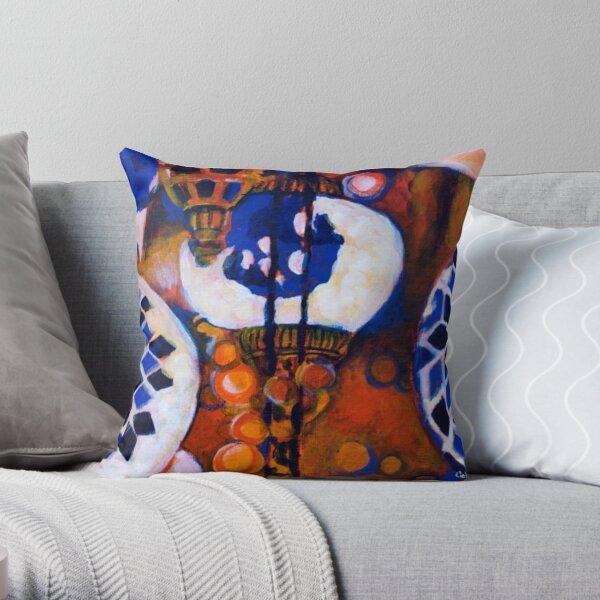 Glimmer - Turkish Lanterns Throw Pillow