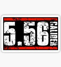 5.56 Caliber Sticker