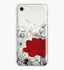 Insect a flower iPhone Case/Skin