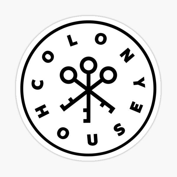 Colony House Sticker