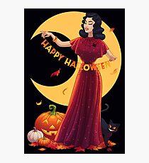 Retro Halloween Photographic Print