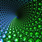 BLUE-GREEN VORTEX by DavidGersten