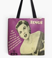 JUDY GARLAND SINGT ~ EARLY 1950 45 BOX SET Tote Bag