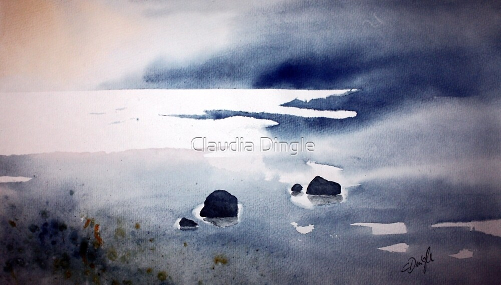 if rocks could tell a tale by Claudia Dingle