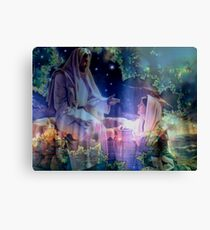Jesus and Mary Magdalene Canvas Print